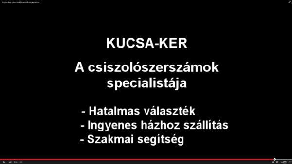Kucsaker bemutatkozó videó